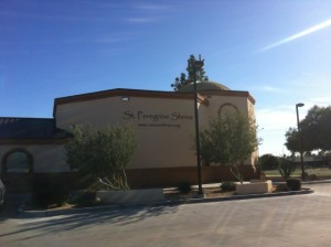 St. Peregrine Cancer Shrine | Christ the King Catholic Church Mesa, AZ